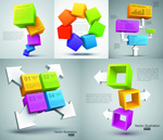 Link toColor cube background vector