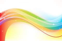 Link toColor curve background vector