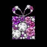 Link toColor diamond gift box vector