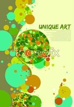 Link toColor dot background vector