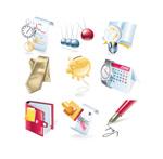 Link toColor financial icon vector