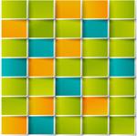 Link toColor grid background vector