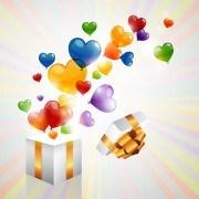 Link toColor heart balloons vector 05