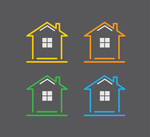 Link toColor house flag vector