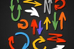 Link toColor indicator design vector