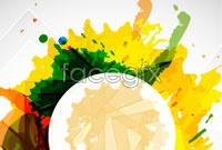 Link toColor ink flow background vector