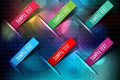 Link toColor label metal background vector