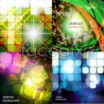 Link toColor mosaic background vector