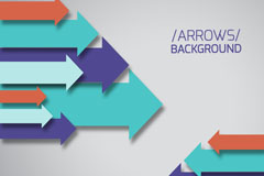 Link toColor of arrow background vector