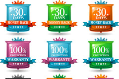 Link toColor pages sale tag vector