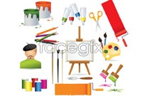 Link toColor paint brush vector