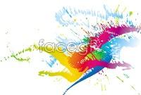 Link toColor paint splash vector