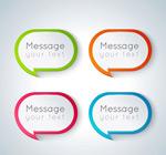 Link toColor round bubble language vector