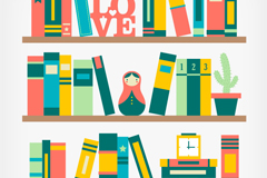 Link toColor shelf design vector
