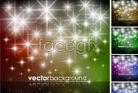 Link toColor shining star background vector graphics