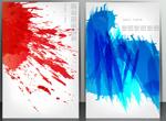 Link toColor splash-ink backgrounds vector