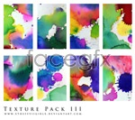 Color splash-ink pictures psd