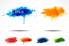 Link toColor splash-ink vector