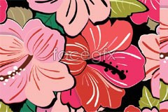 Link toColor stacked floral background vector