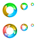 Link toColor stereo rings