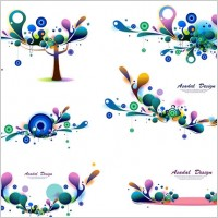 Link toColor texture patterns vector
