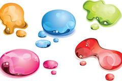 Link toColor the water droplet design vector