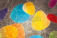 Link toColor trend line background vector