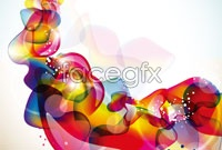 Link toColor trend vector background for three