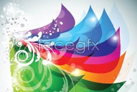 Link toColor trends four background vector