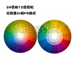 Link tovector wheel color wheel Color