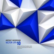 Link toColored 3d shapes background vector 05