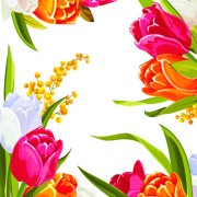 Link toColored beautiful flowers design graphics free