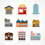Link toColored building vector