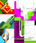 Link toColored business templates vector