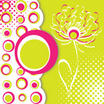 Link toColored circles squares vector