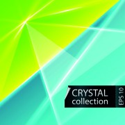 Link toColored crystal triangle shapes vector background 01 free