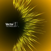 Link toColored glow tech vector background 01 free