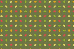 Link toColored leaves seamless vector background