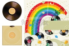 Link toColored music vector