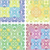 Link toColored pattern background vector
