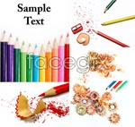 Link toColored pencil picture psd
