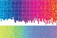Link tovector background dot polka Colored