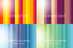 Link toColored vertical stripes background vector