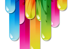 Link toColorful abstract background arrow amount of vector