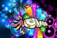 Link toColorful and dynamic musical theme poster vector graphics