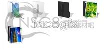 Link toColorful background folder icon