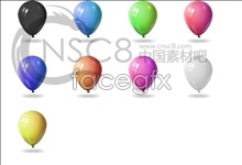 Link toColorful balloon icons
