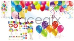 Link toColorful balloon vector
