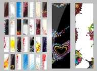 Link toColorful banner vectors free