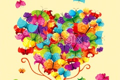 Link toColorful butterfly trees composed of vector